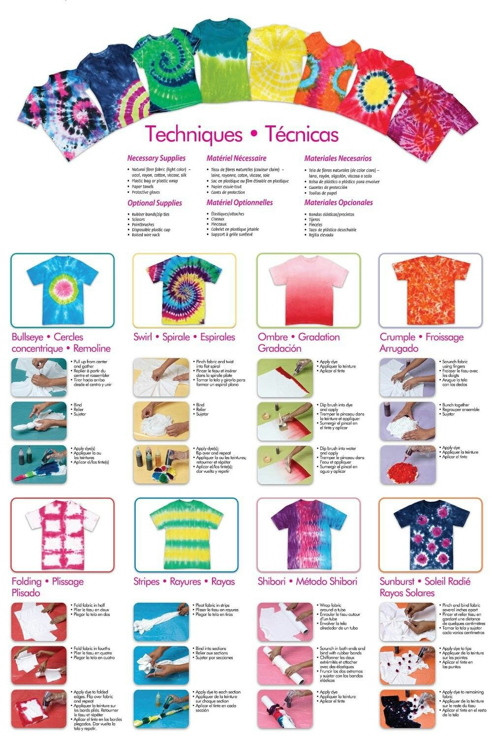 Ridiculous image inside tie dye instructions printable