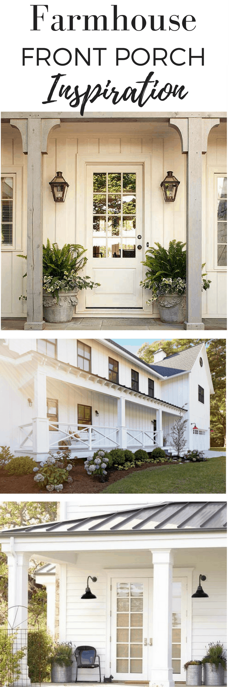 Curb Appeal Makeover With Lowe's- Before Pictures and Inspiration - Farmhouse on Boone