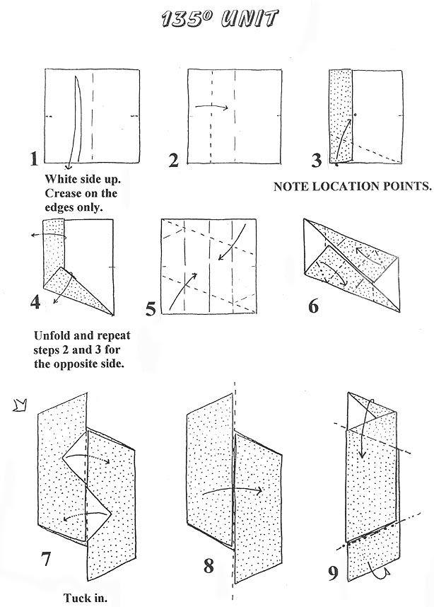folding modular models - polyhedrals