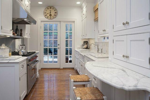 47 Best Galley Kitchen Designs #galleykitchenlayouts galley kitchen design idea 46 #galleykitchenlayouts