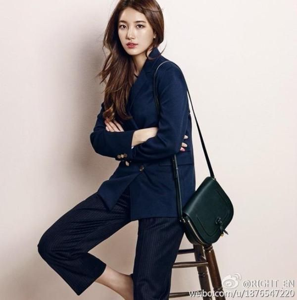 K-Pop — miss A's Suzy poses with her Bonnie Bag...