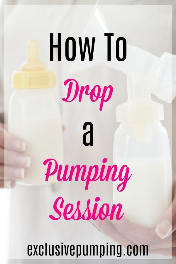 How to Drop Pumping Sessions   Breastfeeding and pumping ...