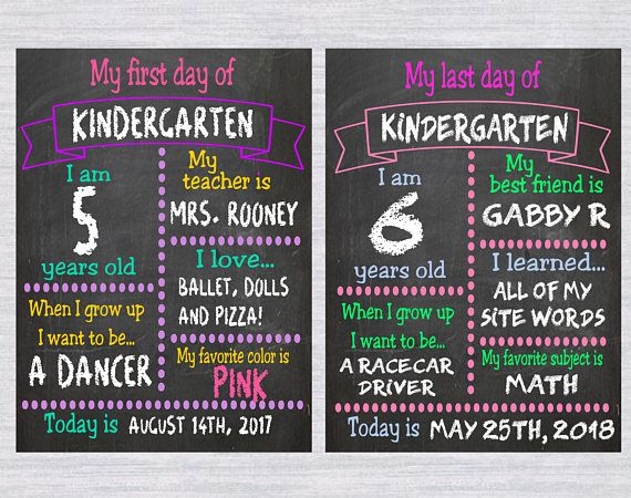 2 School chalkboard template SVG bundle, first day of school svg