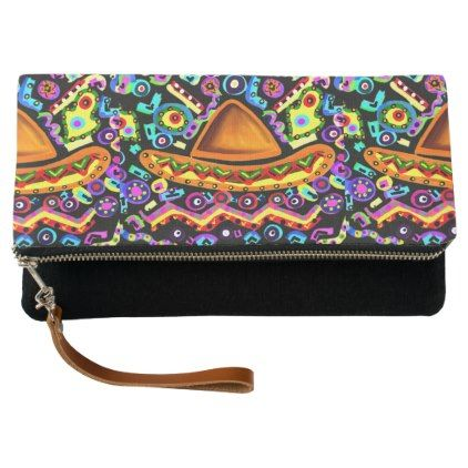 #personalize - #MEXICO ART CLUTCH