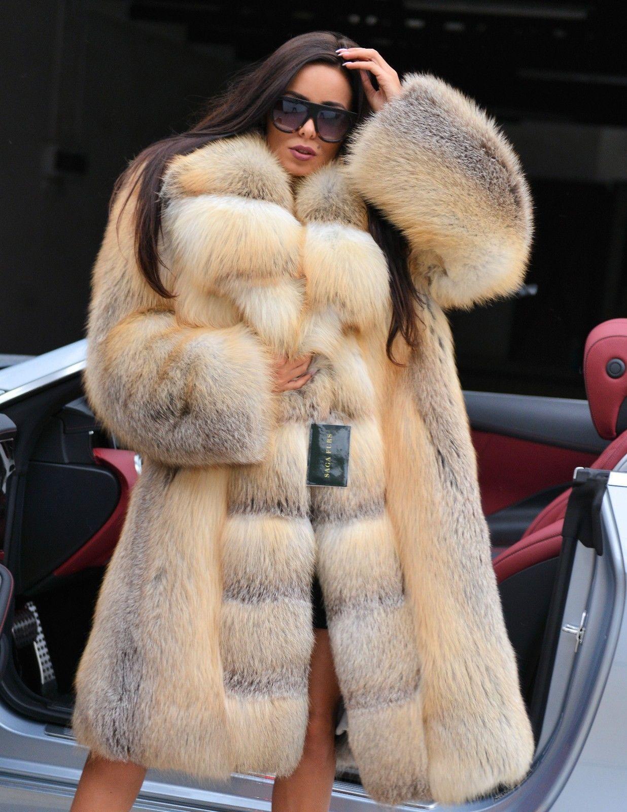 2017 Golden Island Royal Fox Fur Coat Class Chinchilla Sable Mink Silver Jacket In Kleidung Amp Accessoires Dame Fuchspelz Mantel Fuchspelz Mantel Mit Pelz