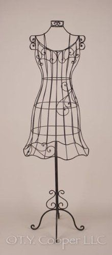 Wrought Iron 60 Tall Dress Form Mannequin Ironarboretum Http
