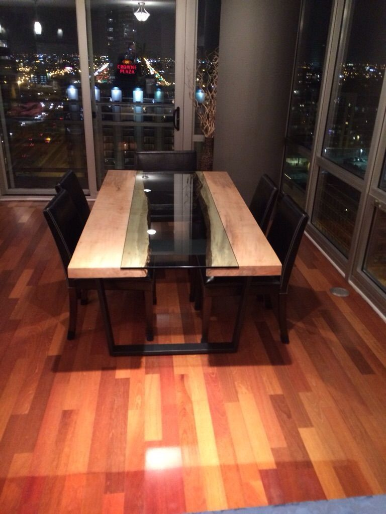 47 Cool Decorating Ideas To Try With Live Edge Wood Unique Dining Tables Live Edge Wood Furniture Dining Table