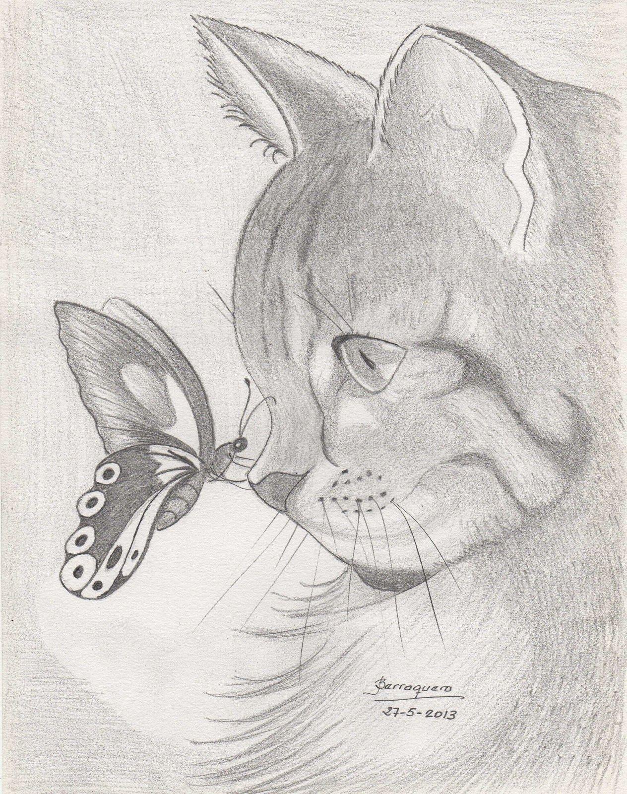 dibujos a lapiz de animales tiernos  Buscar con Google  dibujos