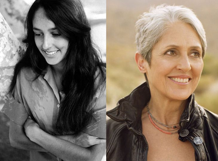 Joan Baez Joan Baez Stars Then And Now Celebs