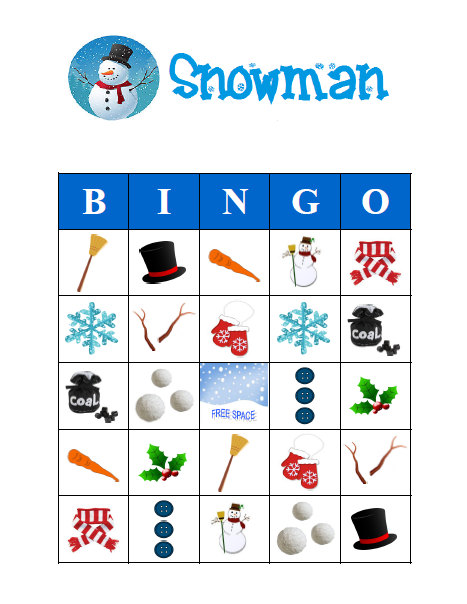 photograph regarding Winter Bingo Cards Free Printable referred to as Snowman Wintertime Bingo 30 Printable Xmas Holiday vacation Get together
