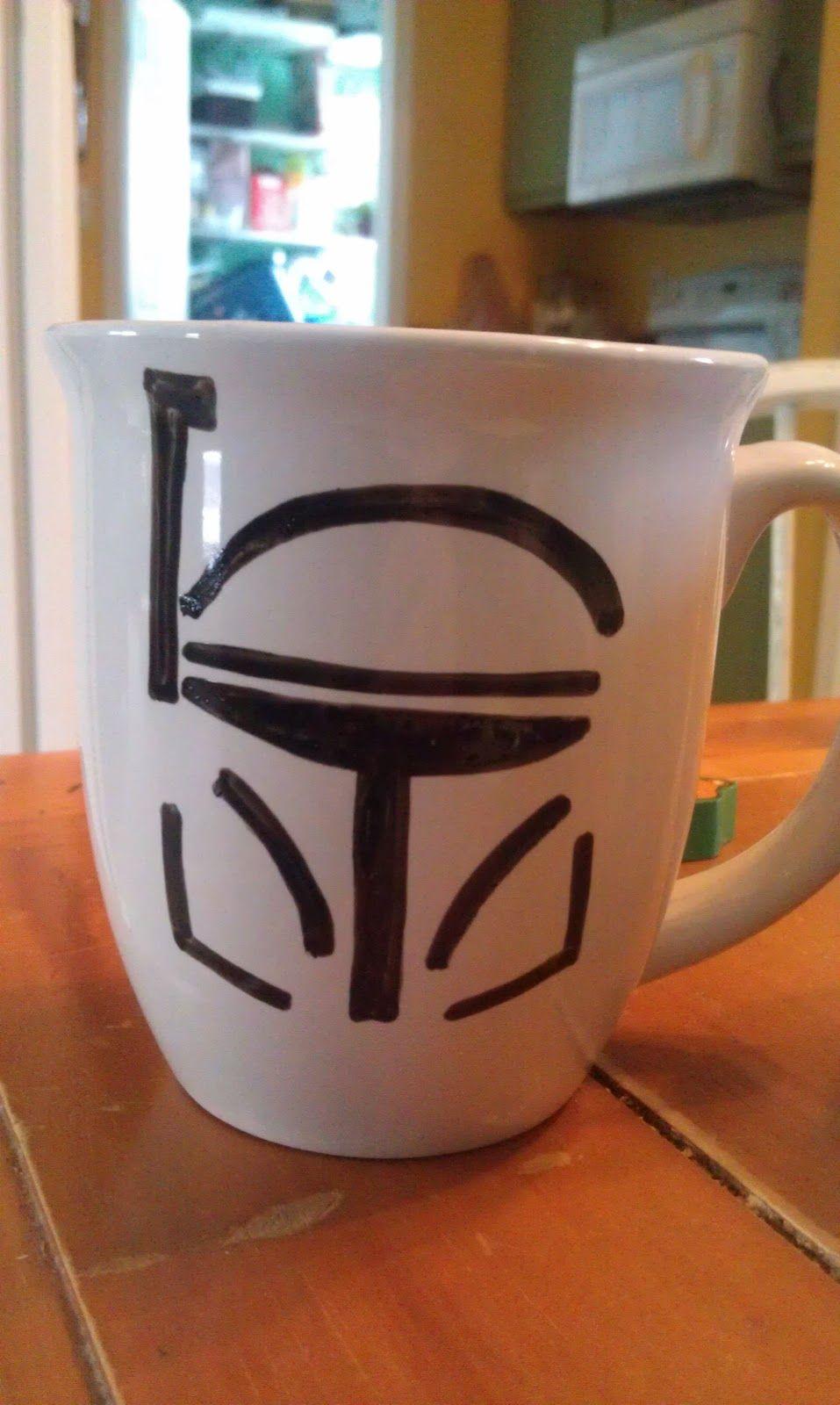 Star Wars Mugs Boo Ya 8 Each Star Wars Diy Star Wars Mugs