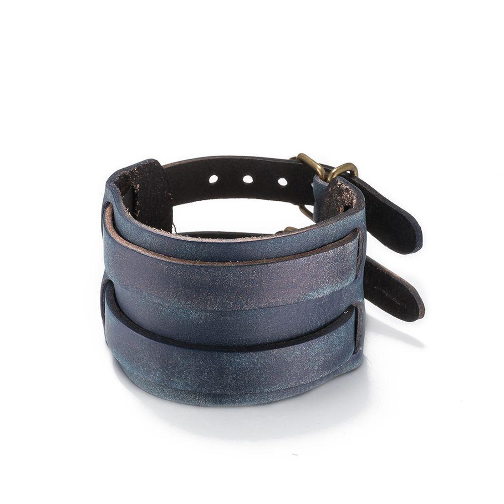 trendy jewelry fashion alloy bracelets rock bangle rivet wide