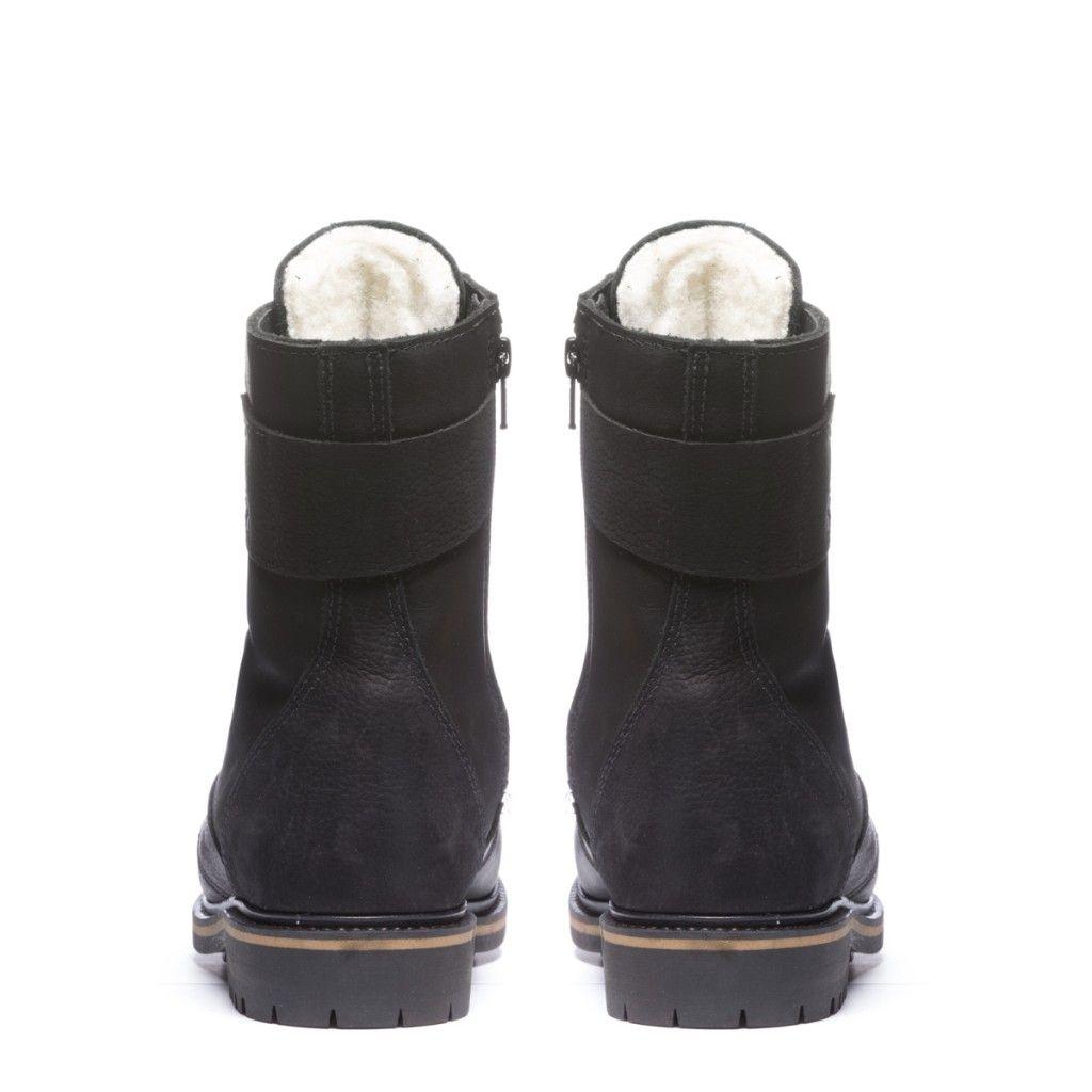 c9f433dbb83817 Kanda Womens Winter Cold-Weather Boots - Womens leather boots - Womens  black leather boots