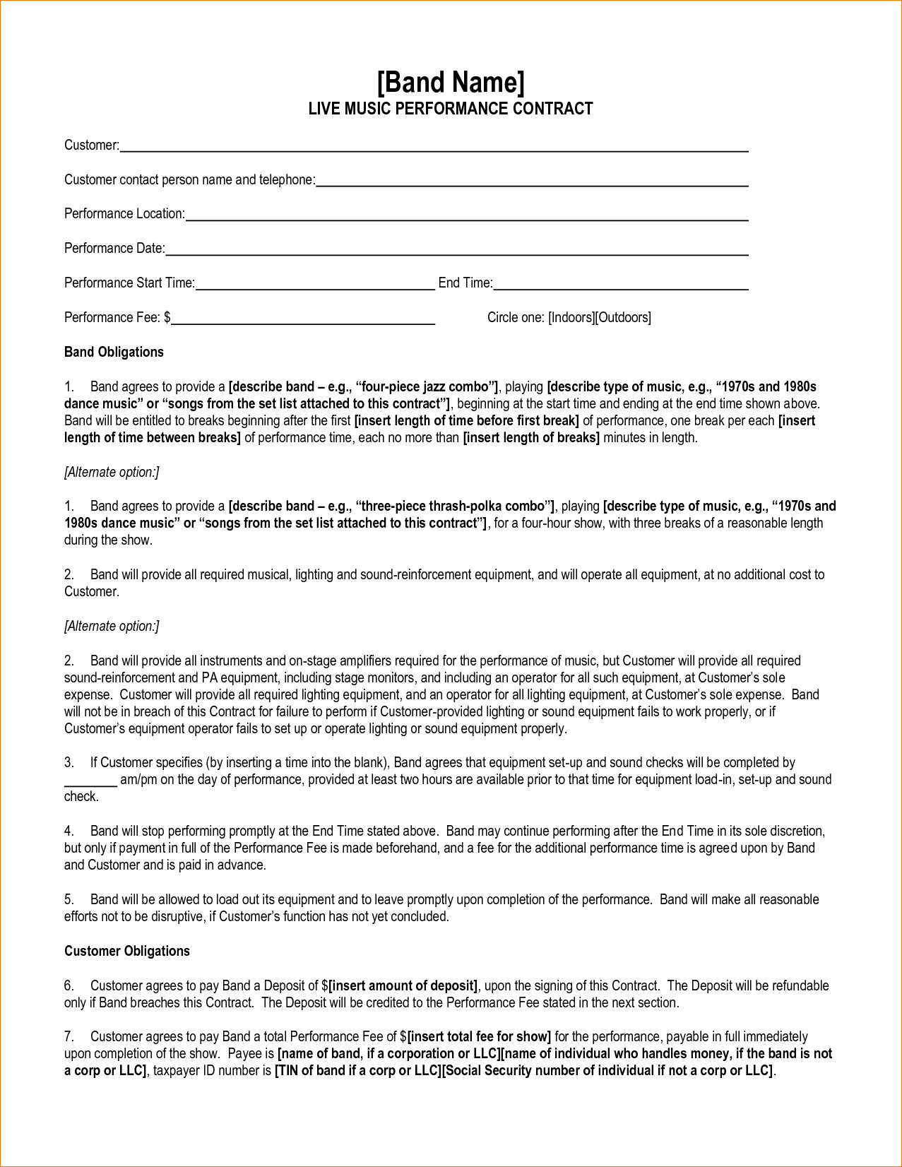 bandcontracttemplate68346241.png (1277×1652) Contract