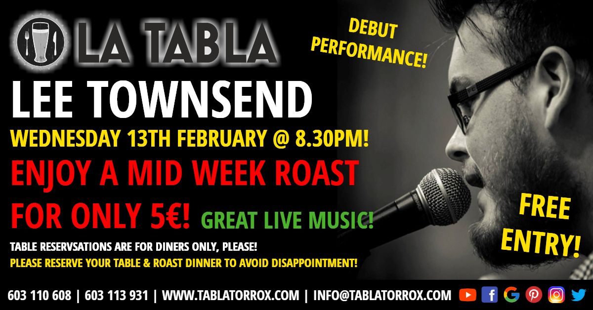 Don't Miss Lee Townsend's Debut Performance! Debut