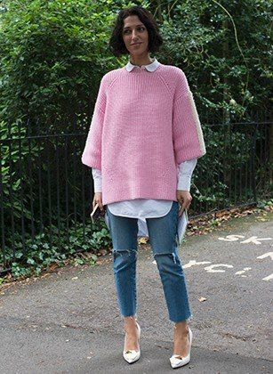 How to layer Short Sleeve Sweater & Long Sleeve Shirt Combo: it's ...