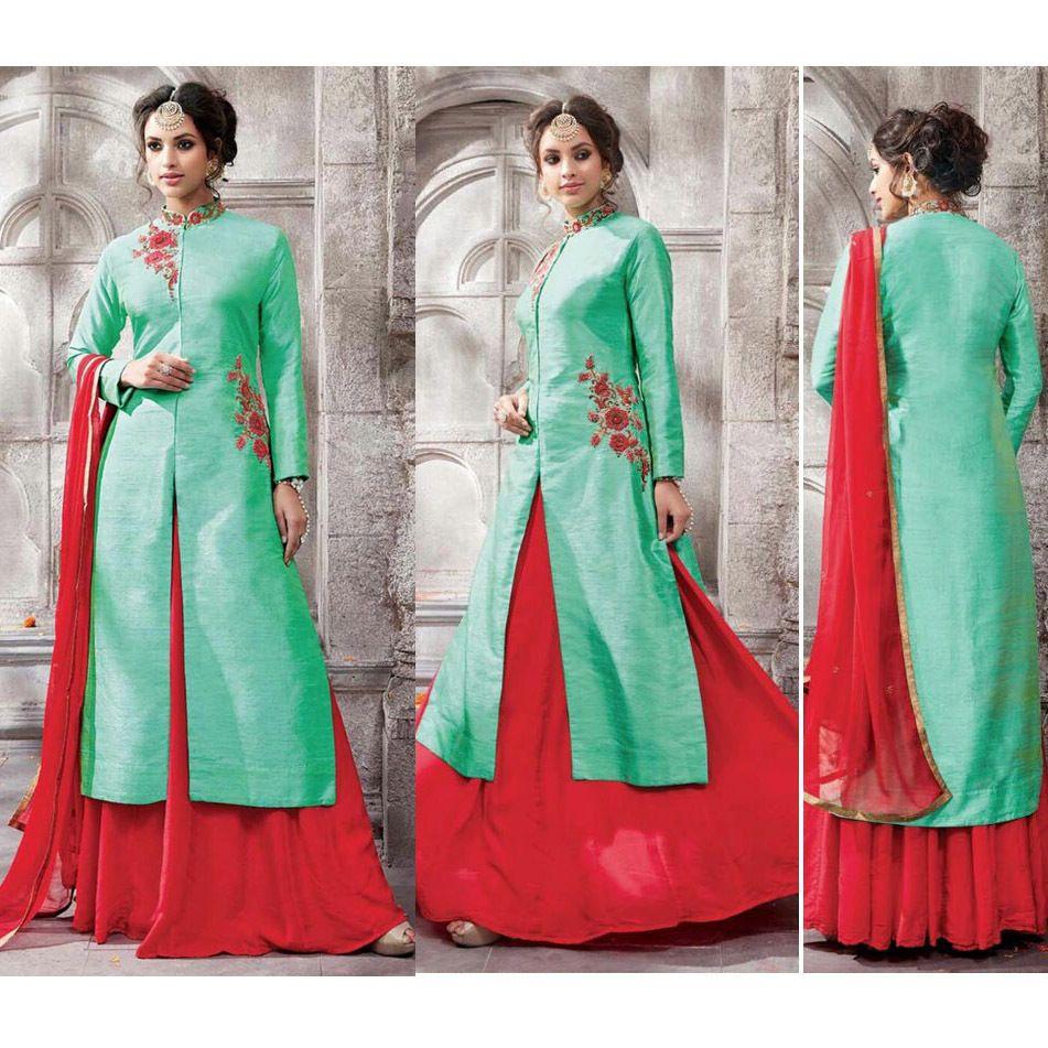 Bollywood Latest Designer Indian Wedding Salwar Kameez Unstiched ...