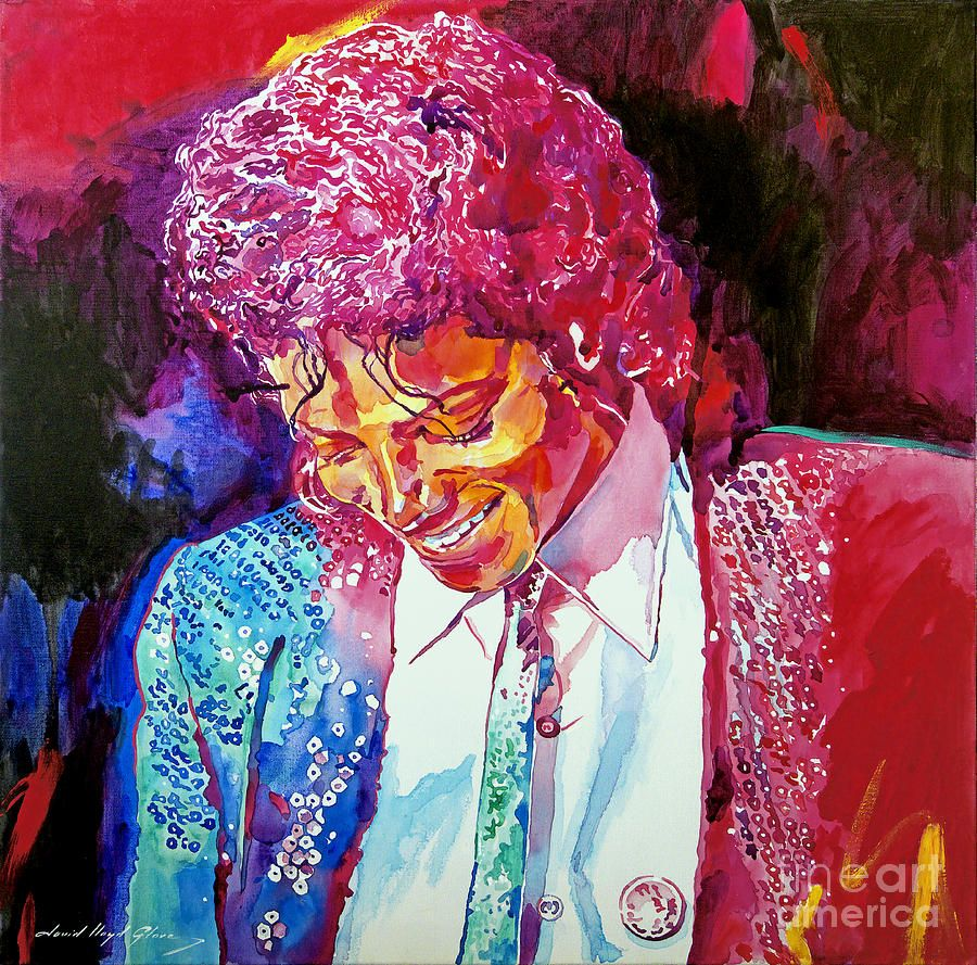 Art Print POSTER Young Michael Jackson