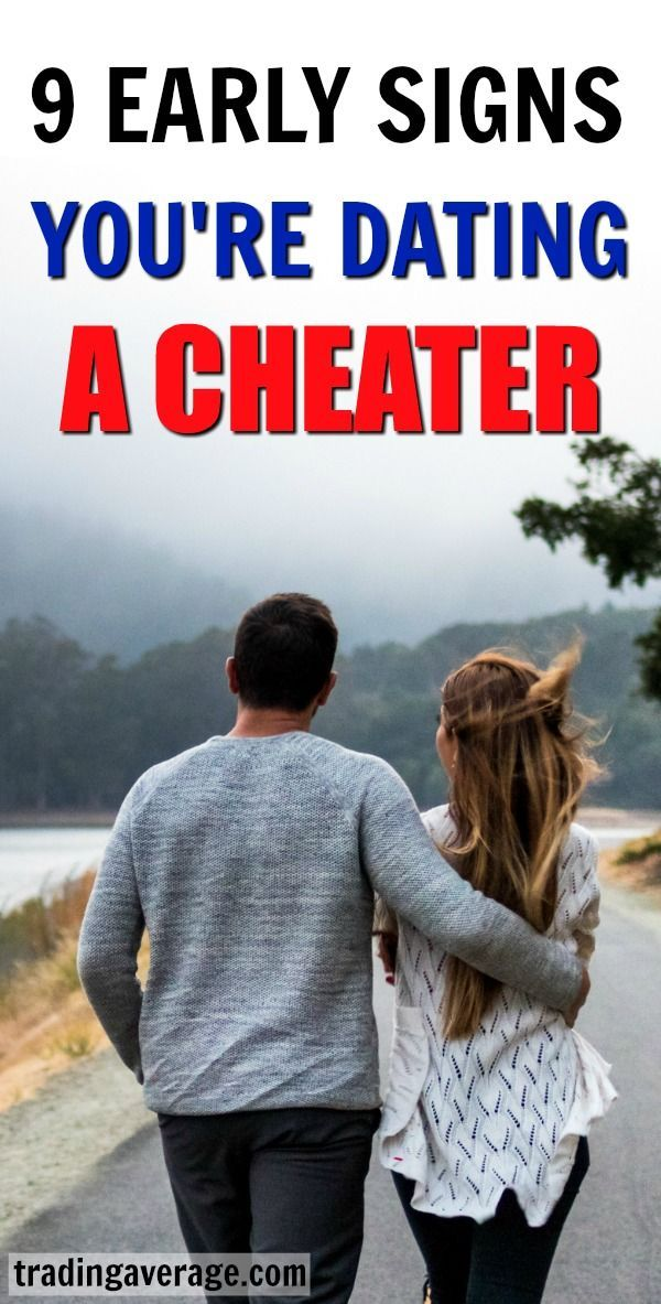 How do you know if youre dating a cheater