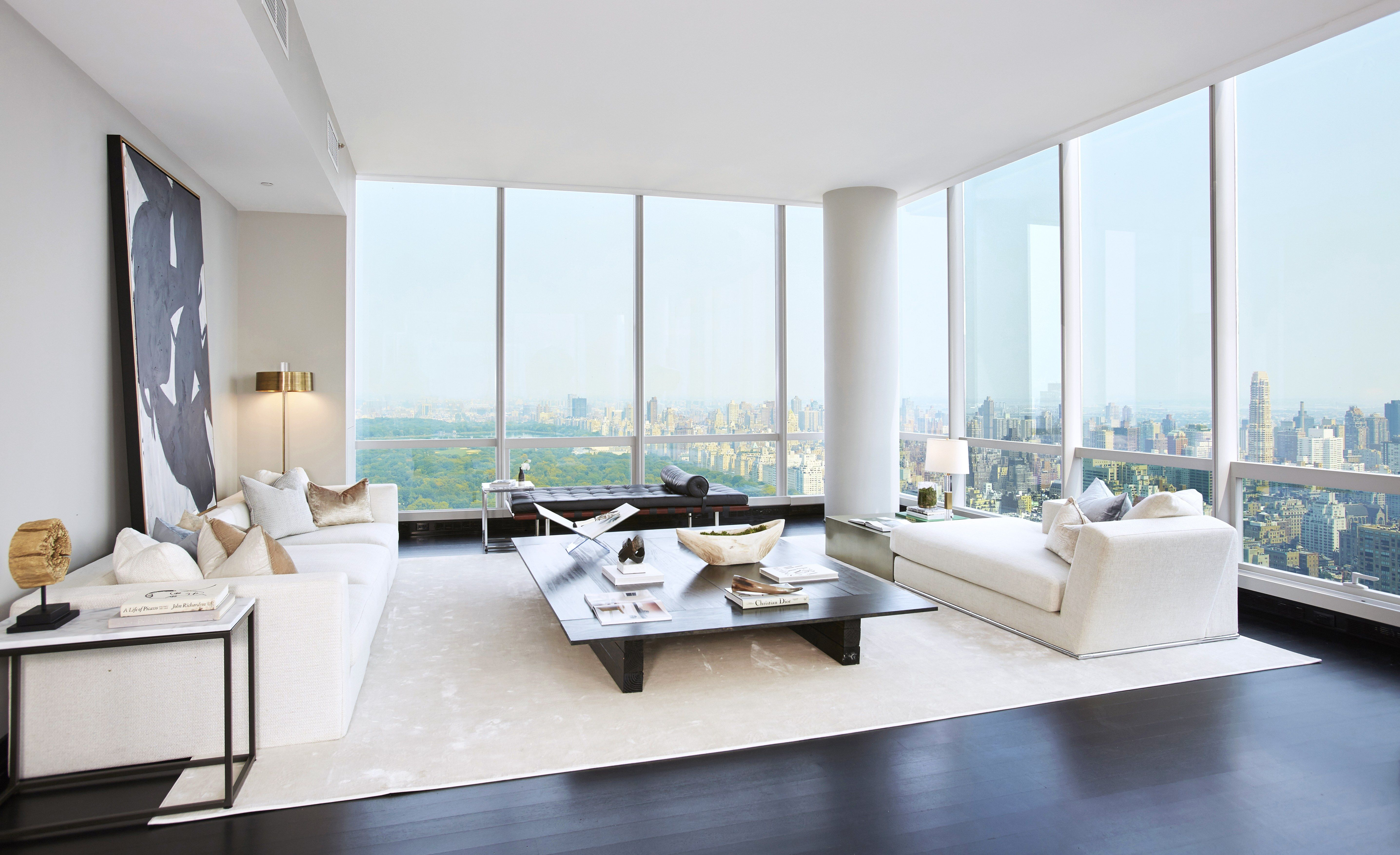 You Could Own A Midtown Manhattan Apartment With Sweeping Central Park Views Luxury Apartments Penthouse Living Trendy Living Rooms