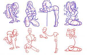 How to draw sexy women photos 69
