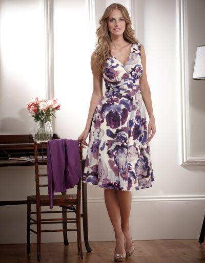 Floral Pleat Dress A Super Feminine Dress In A Cotton Silk