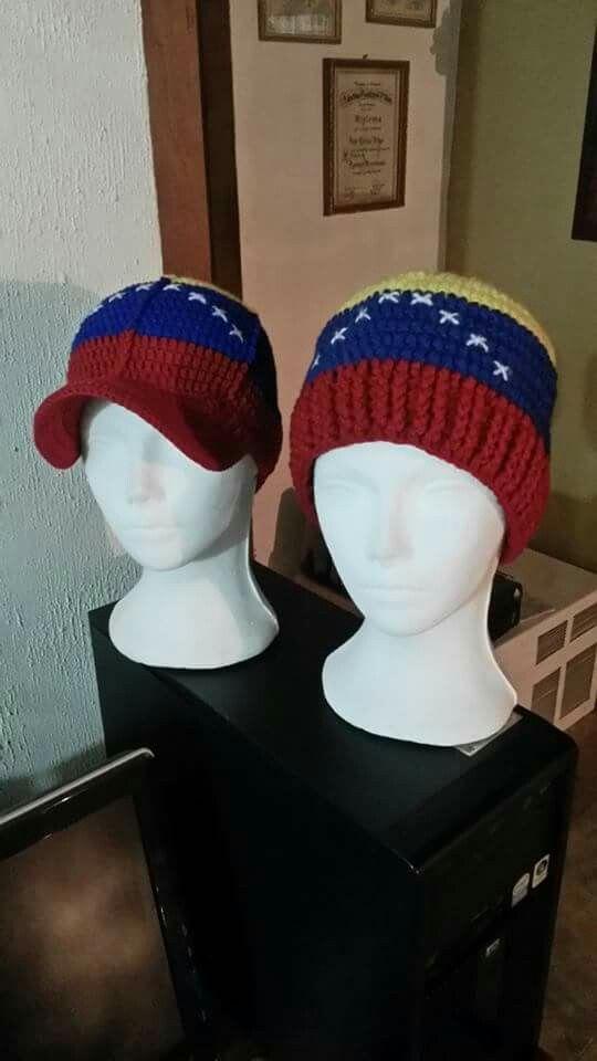 Bellos Gorros y Gorra tejidos a Crochet   @OleCrochetFashion ...