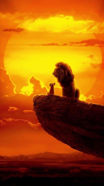 The Lion King (2019) Phone Wallpaper   Moviemania