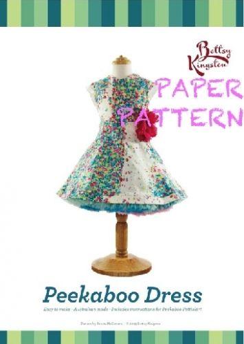 Peekaboo Dress Pattern_FRONT PAPER-365x516