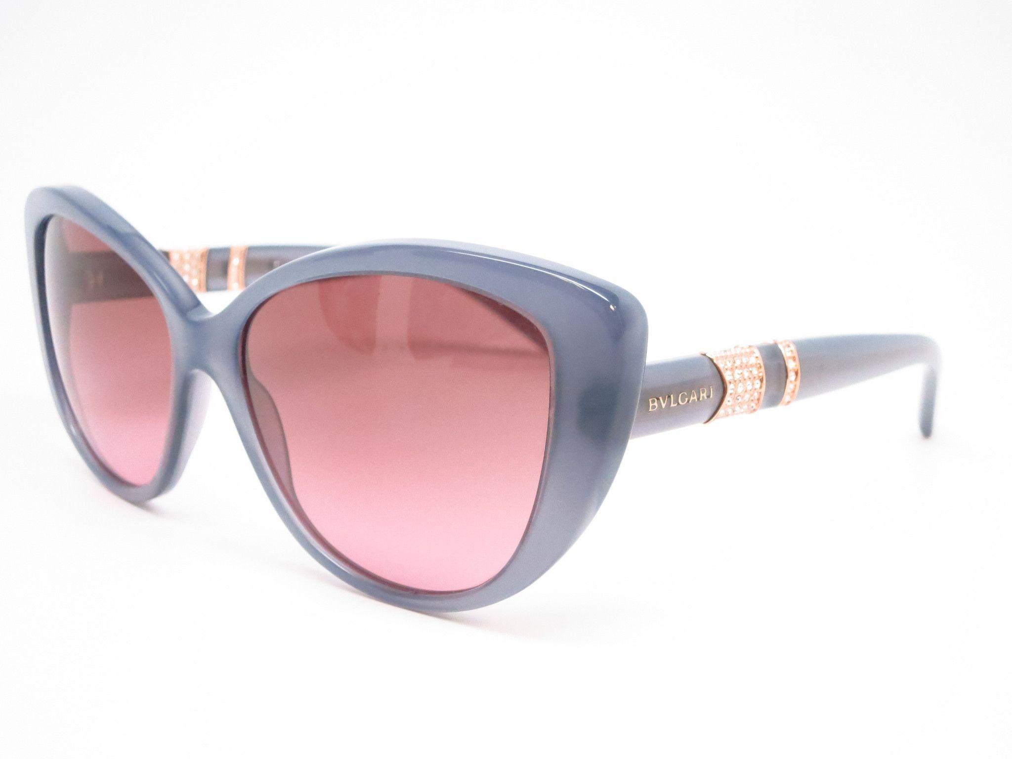 6a0615cbc4 Bvlgari BV 8151B 5321 14 Transparent Grey Sunglasses