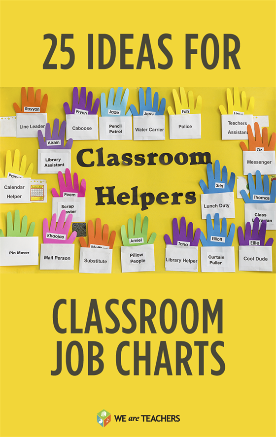 25 flexible fun and free classroom job chart ideas what s new on