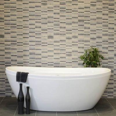 Polis Relieve Gris Tile 1479 Betterbathrooms Diy Ideas