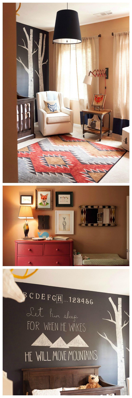 Woodland Baby Bedroom: Woodland Nursery Ideas