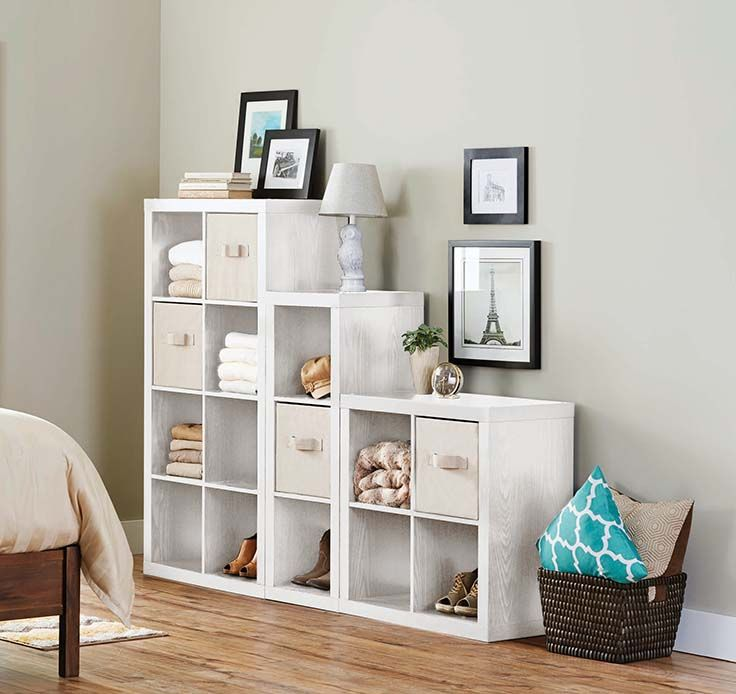 Better Homes And Gardens 15 Cube Wall Unit Organizer Cube Storage Bedroom Cube Storage Cube Storage Decor