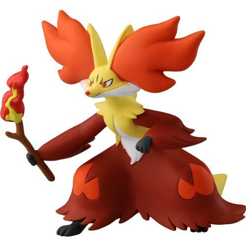 Black Friday 2014 Takaratomy Official Pokemon X And Y Sp 08 2 5 Delphox Action Figure From Takara Tomy Cyber Monday Black Frid Pokemon Pokemon Toy Pokemon Go