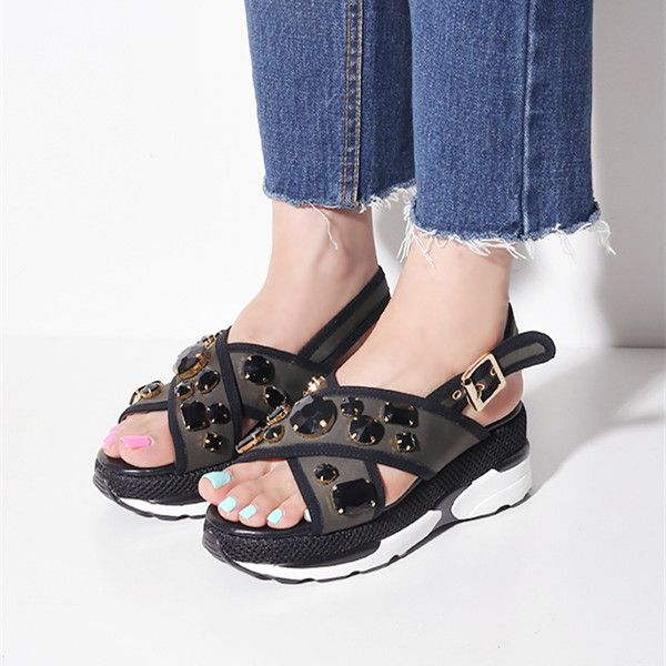 Chaussures - Orteil Sandales Post Pi Donna