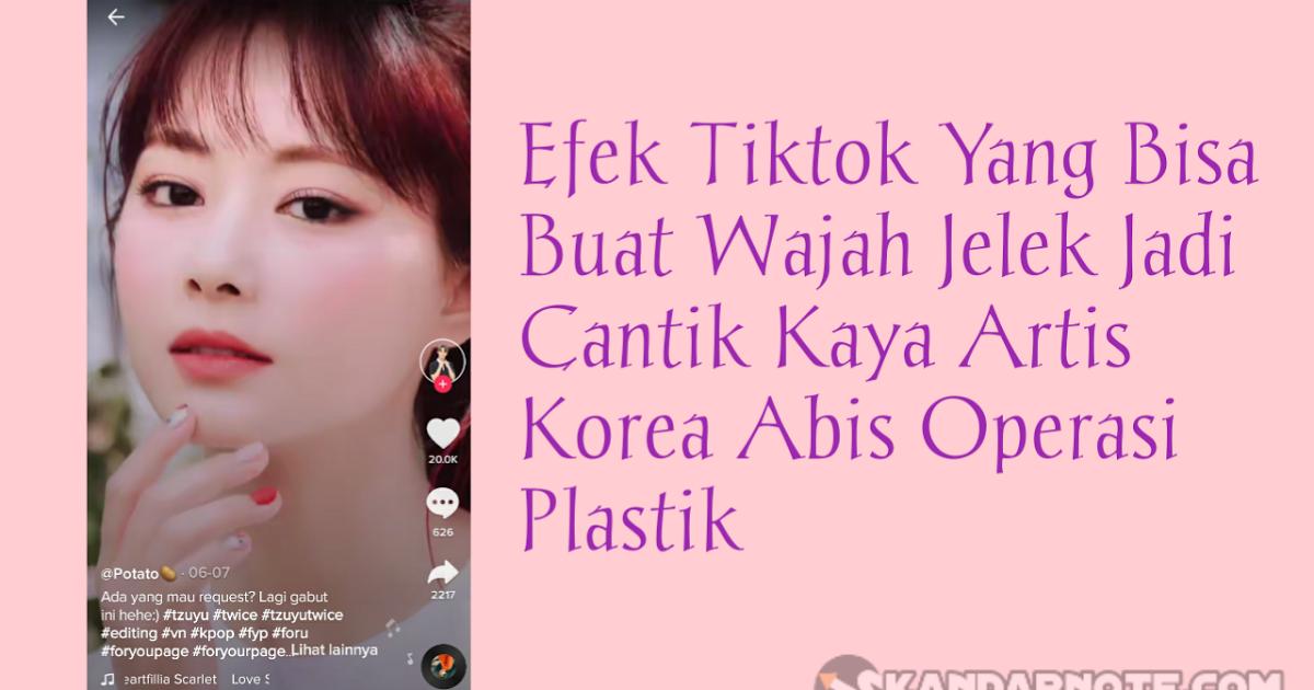 Cara Buat Video Tik Tok Wajah Jelek Jadi Cantik Sehingga Muka Yang Hitam Menjadi Putih Bersih Seperti Artis Korea Dan Reemar Martin Mau Wajah Kecantikan Video