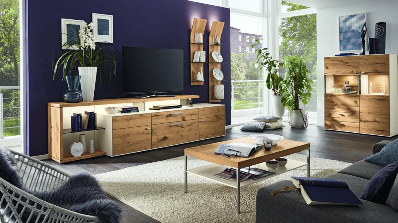 composition tv mobilier de salon