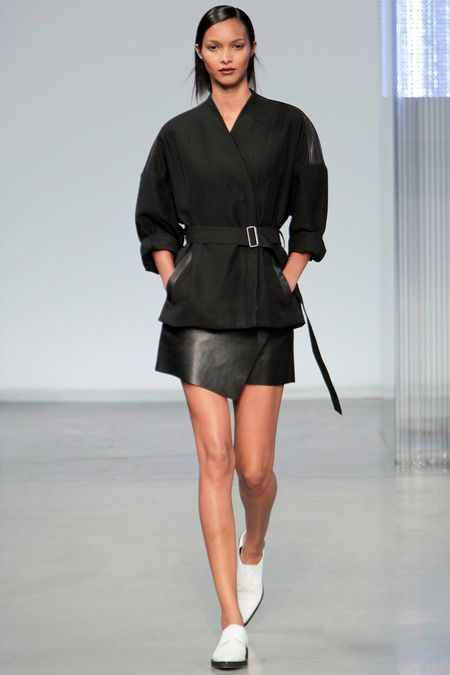 Helmut Lang Spring 2014 #NYFW The HL team mines the nineties for their Spring collection - an obviously strong period for the minimalist brand.