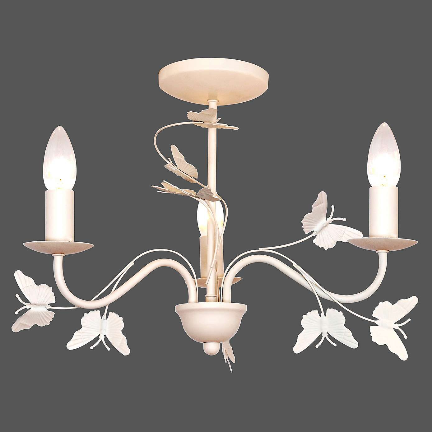 Bedroom Ceiling Lights Nz Vintage Butterfly 3 Light Fitting Dunelm Eleanors Room