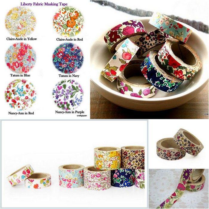 Liberty of London Fabric Masking Tape | Masking tape | Pinterest ...