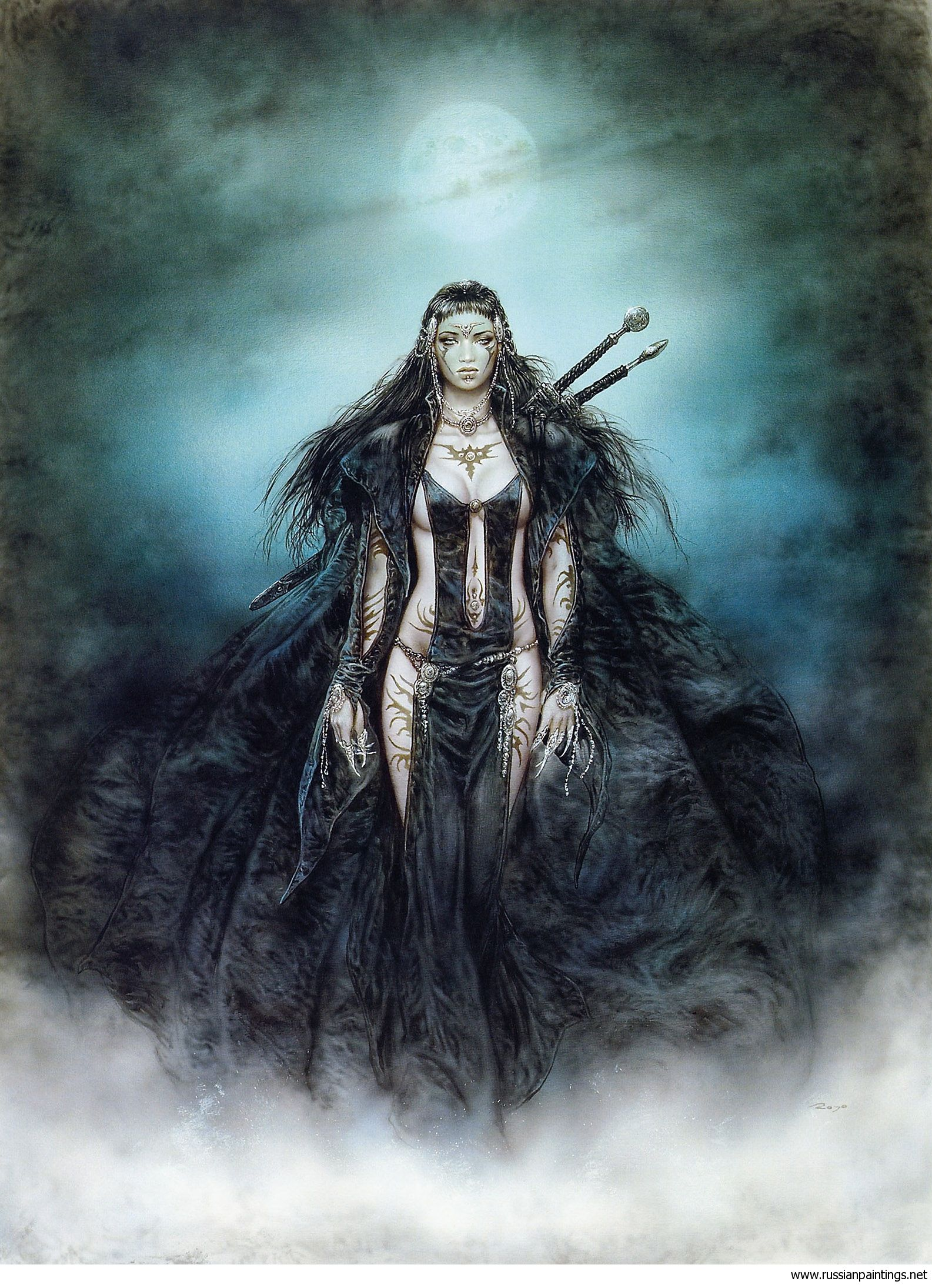 Luis royo female in name pinterest galeras luis royo voltagebd Image collections