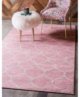 Bridgeport Home Plexity Plx2 Pink 9 X 12 Area Rug Reviews