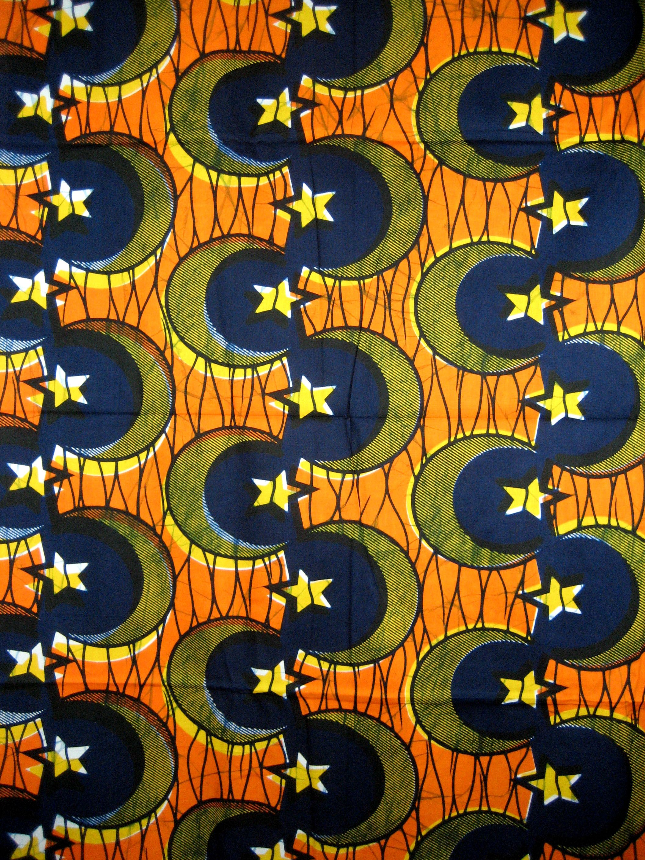 an African style pattern  African textiles, African fabric, African