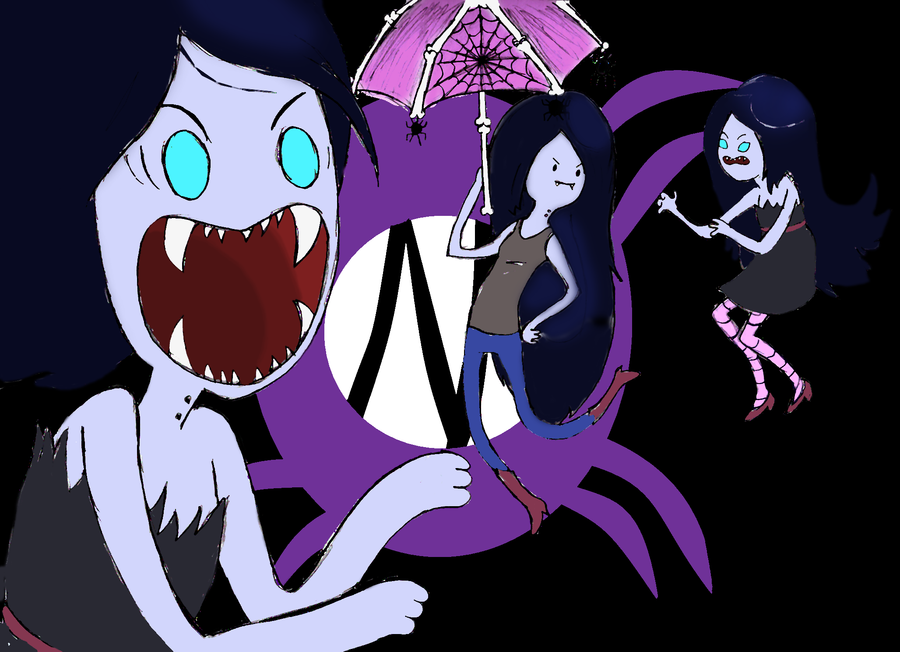 Floating Good Natured Well Most Of The Time Vampire Teenager Marceline Abedeer From Adventure If You Havent Watched Cartoon Dont Ask