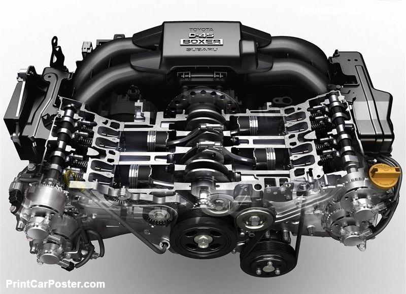 Toyota 86 GTS 2012 Poster. ID:1348784 | Automobile engineering,  Engineering, Toyota 86Pinterest