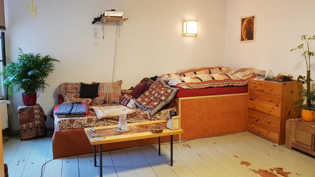 Coole SofaBettKombi Höhere Etage als Bett für den