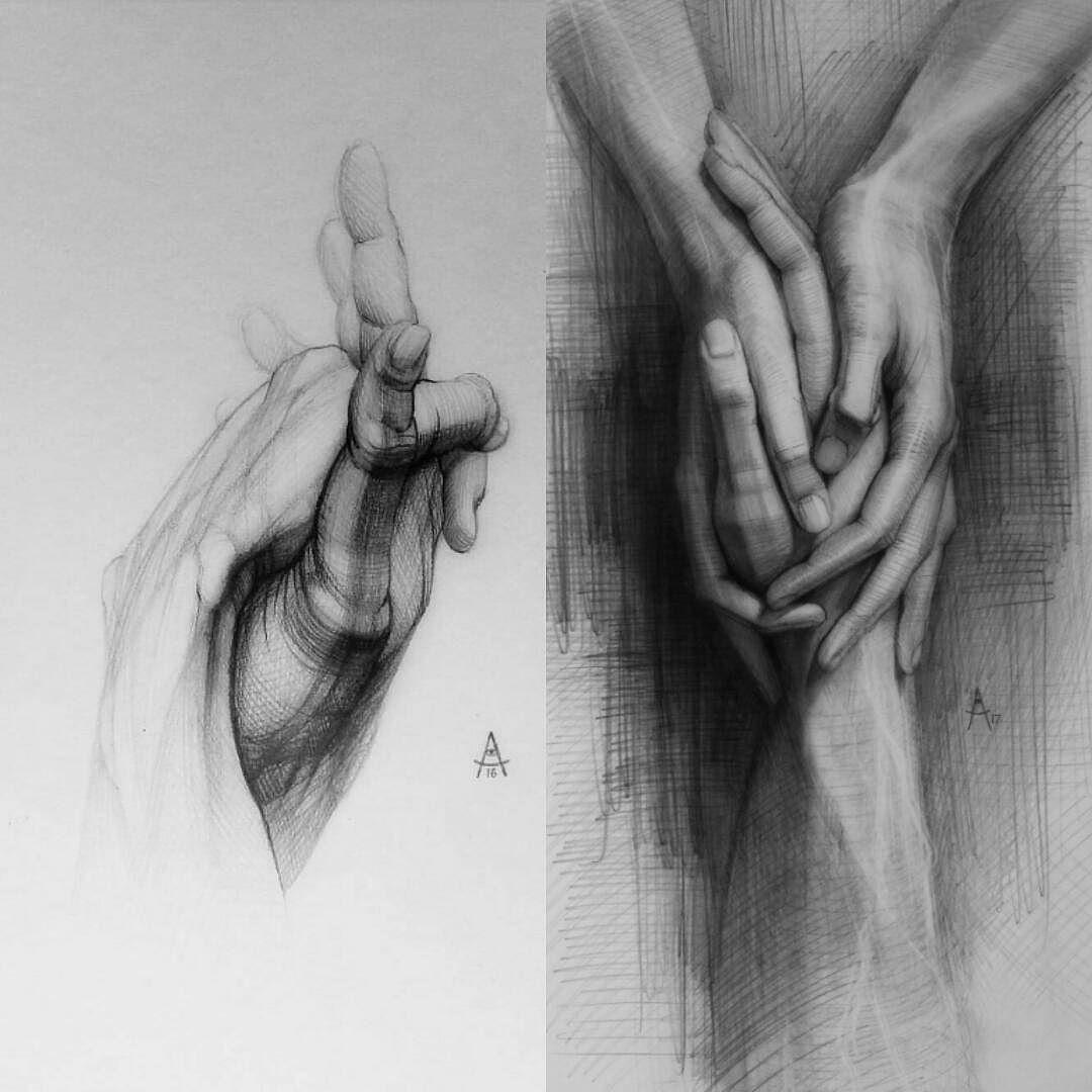 creative hand drawings - 736×736