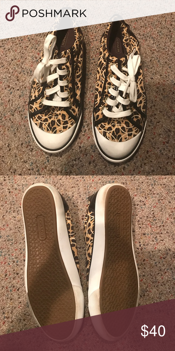Leopard sneakers, Sneakers, Coach shoes