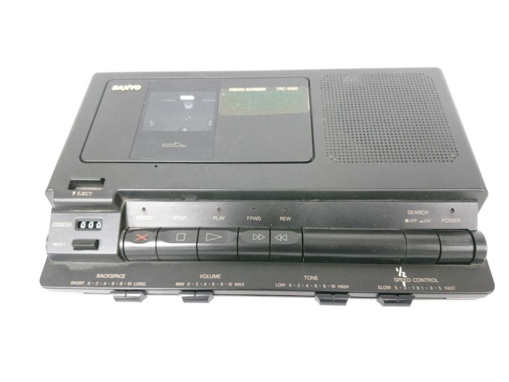 Details about sanyo trc8080 standard cassette